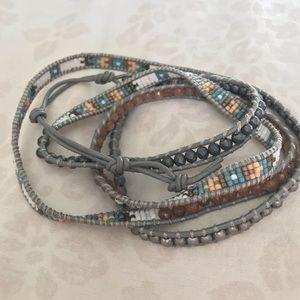 Beaded Boho Wrap Bracelet